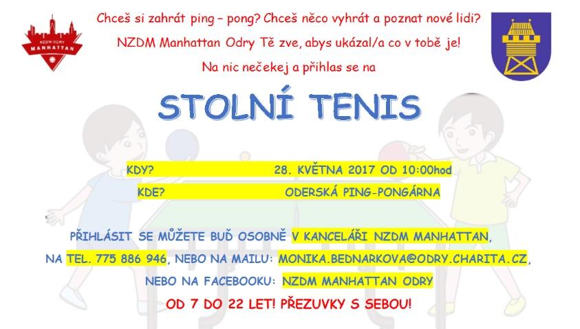 Stolní tenis-oprava